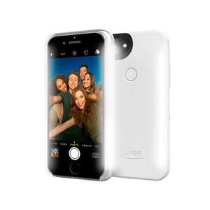 Купить Селфи-чехол с подсветкой LuMee Duo White Gloss для iPhone 8/7/6/6s