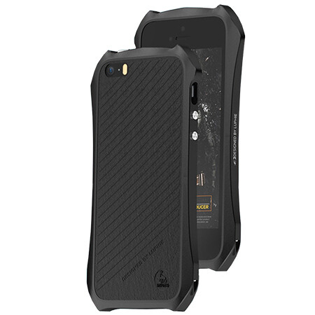 Бампер Luphie Black для iPhone 5/5S/SE