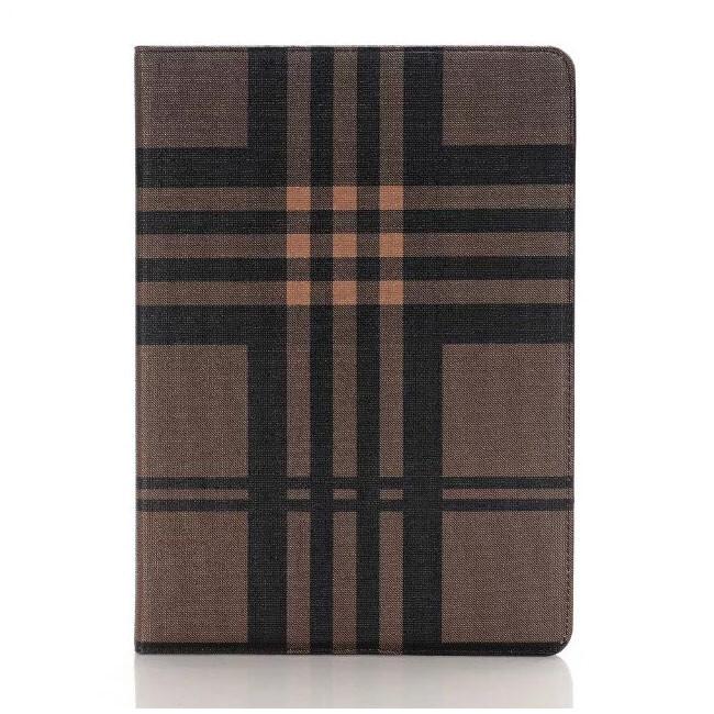 """Чехол Plaid Burberry Brown для iPad Pro 9.7"""""""