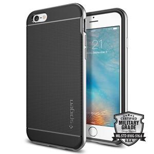 Купить Чехол Spigen Neo Hybrid Satin Silver для iPhone 6/6s
