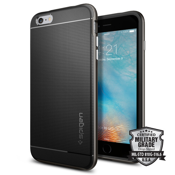 Чехол Spigen Neo Hybrid Gunmetal для iPhone 6/6s Plus
