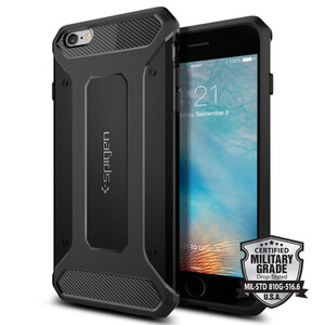 Купить Чехол Spigen Rugged Armor для iPhone 6 Plus/6s Plus