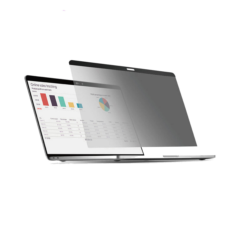 "Купить Защитная пленка антишпион для MacBook Air 13"" (2018-2020) Wiwu Screen Protector Privacy Film"
