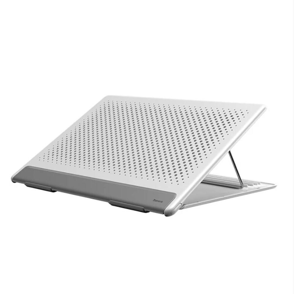 Купить Подставка для MacBook Baseus Let's go Mesh Portable Laptop Stand White   Gray