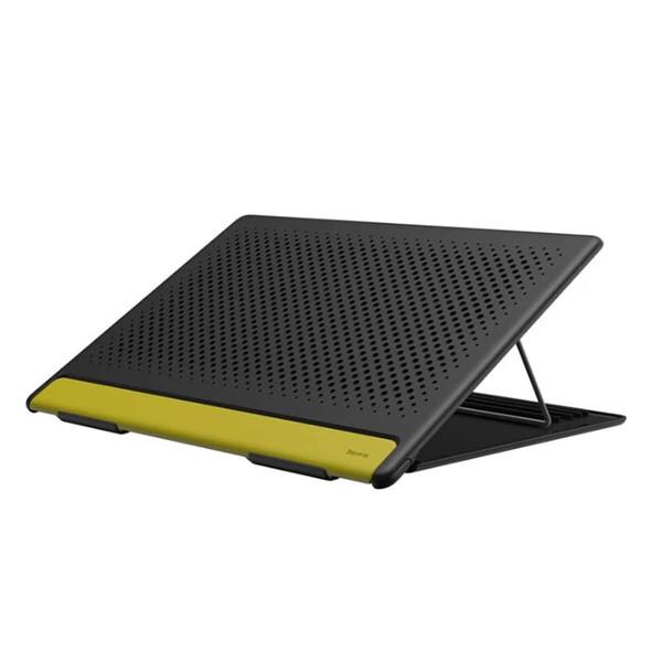 Подставка для MacBook Baseus Let's go Mesh Portable Laptop Stand Gray   Yellow