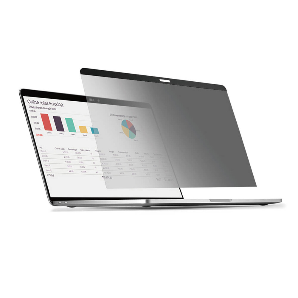 "Купить Защитная пленка антишпион для MacBook Pro 15"" (2016-2019) Wiwu Screen Protector Privacy Film"