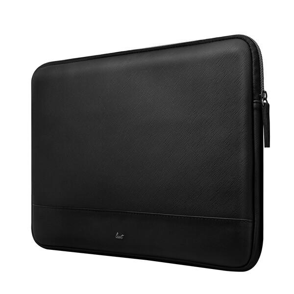 "Кожаный чехол для MacBook Pro 16""   Pro 15"" Laut Prestige Sleeve Black"