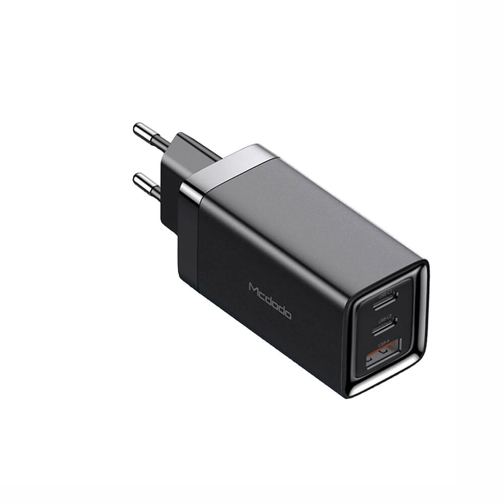 Купить Быстрое зарядное устройство Mcdodo GaN Mini Fast Charger USB-C + USB-A 65W