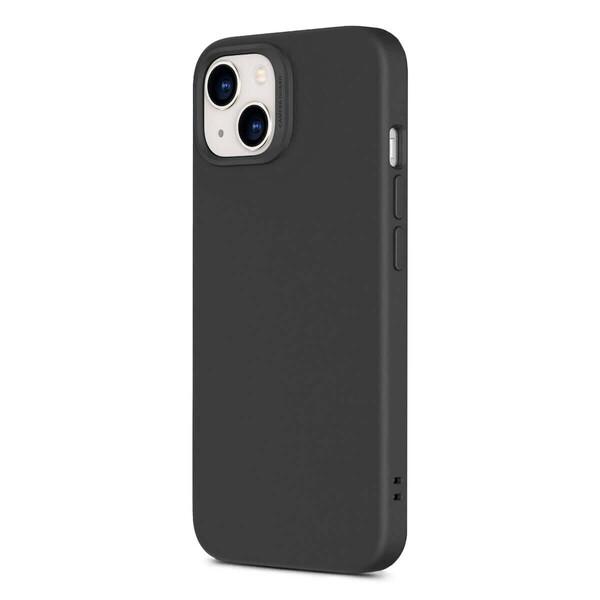 Черный силиконовый чехол MagSafe ESR Cloud Soft Series Liquid Silicone Case Cover with HaloLock Black для iPhone 13