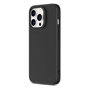 Купить Черный силиконовый чехол MagSafe ESR Cloud Soft Series Liquid Silicone Case Cover with HaloLock Black для iPhone 13 Pro