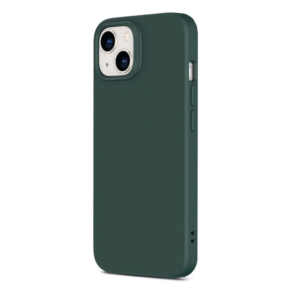 Силиконовый чехол MagSafe ESR Cloud Soft Series Liquid Silicone Case Cover with HaloLock Pine Green для iPhone 13