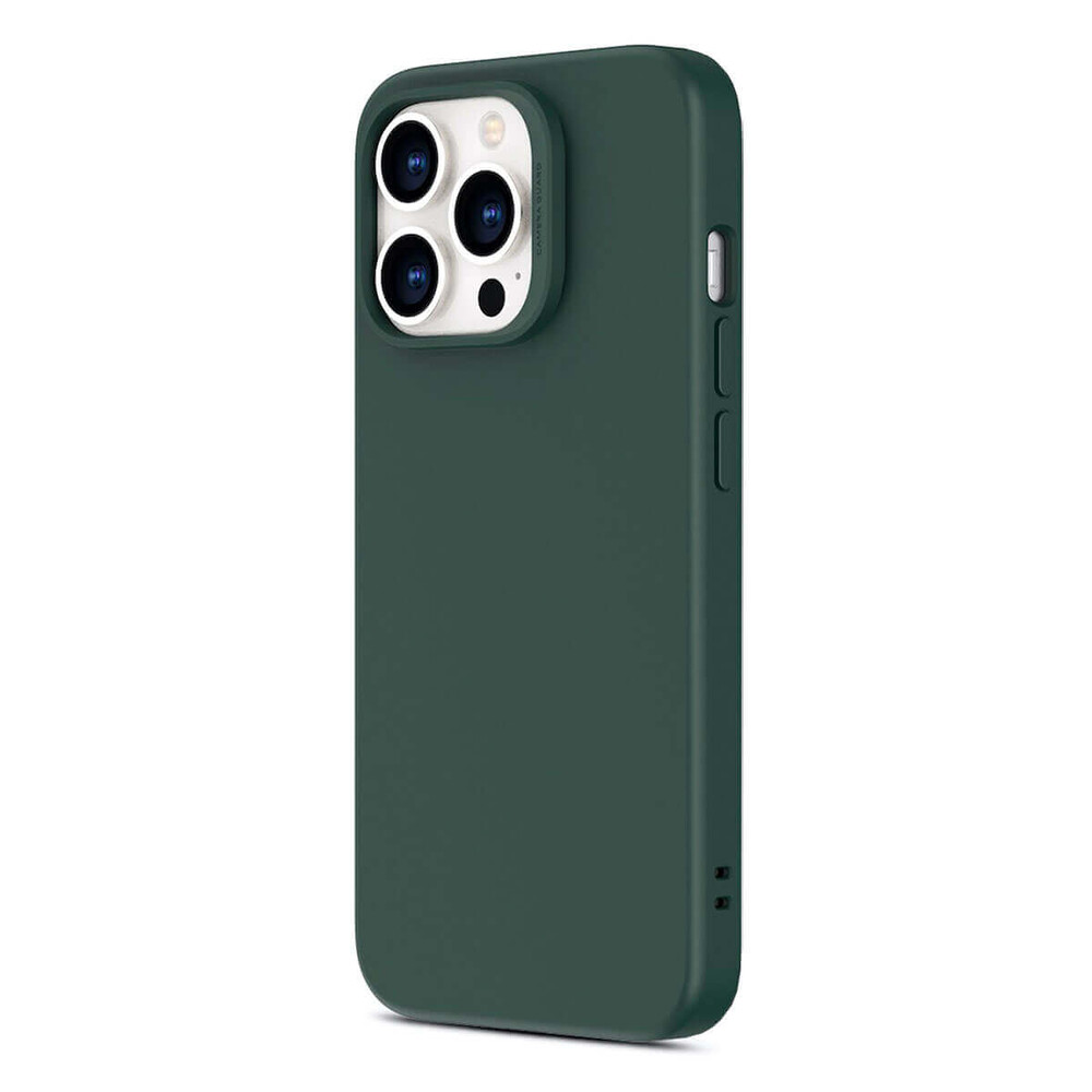 Силиконовый чехол MagSafe ESR Cloud Soft Series Liquid Silicone Case Cover with HaloLock Pine Green для iPhone 13 Pro Max