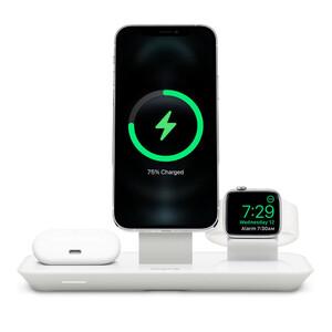 Купить Док-станция MagSafe Mophie 3-in-1 Wireless Charging Stand (HPP82) для iPhone | Apple Watch | AirPods