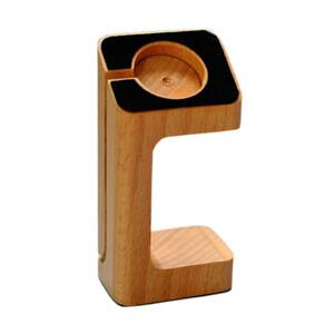 Купить Деревянная док-станция MagWood из бука для Apple Watch