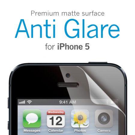 Матовая антибликовая защитная пленка для iPhone 5/5S/SE