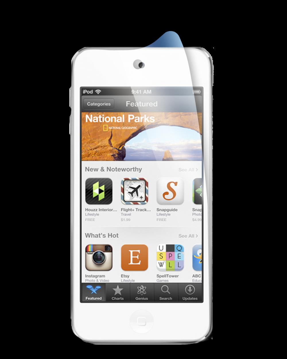 Матовая защитная пленка для iPod Touch 5G