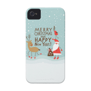 Купить Чехол BartCase Merry Christmas and Happy New Year для iPhone 4/4S