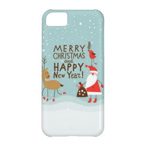 Купить Чехол BartCase Merry Christmas and Happy New Year для iPhone 5C