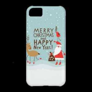 Купить Чехол BartCase Merry Christmas and Happy New Year для iPhone 5C