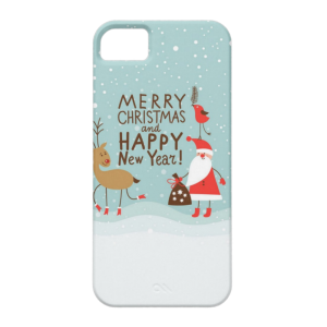 Купить Чехол BartCase Merry Christmas and Happy New Year для iPhone 5/5S/SE