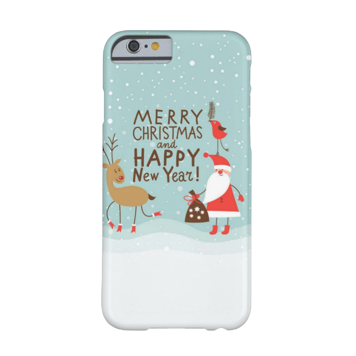 Чехол BartCase Merry Christmas and Happy New Year для iPhone 6/6s