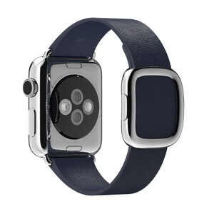Купить Ремешок Apple 38mm Midnight Blue Modern Buckle (MJ5A2) Medium для Apple Watch Series 1/2