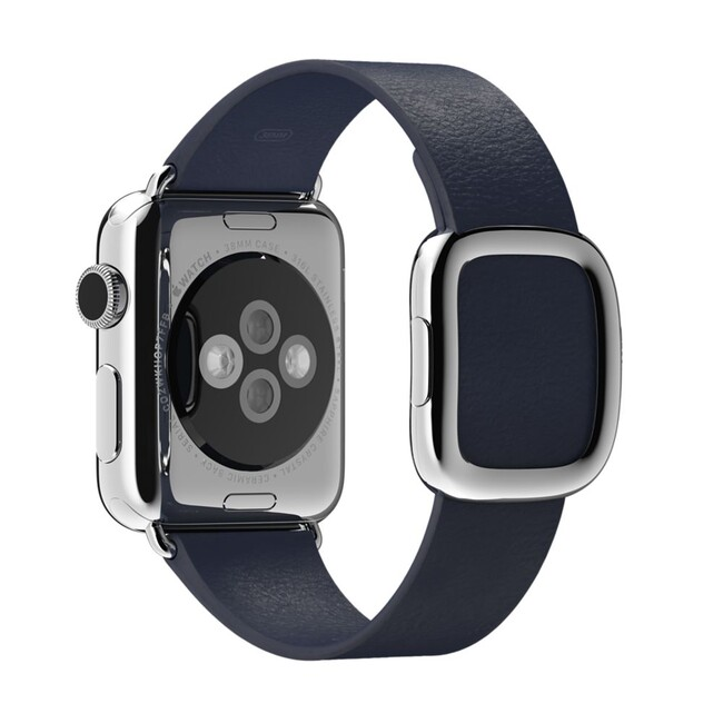 Ремешок Apple 38mm Midnight Blue Modern Buckle (MJ5A2) для Apple Watch