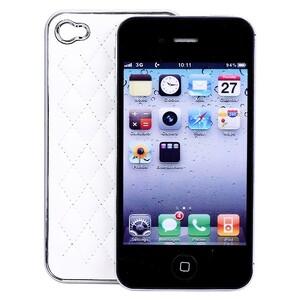 Купить Белый чехол Minjes Hermes для iPhone 4/4S