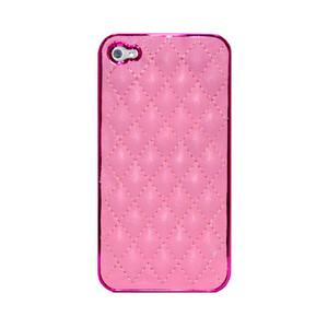 Купить Розовый чехол Minjes Hermes для iPhone 4/4S