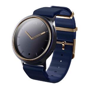 Купить Гибридные смарт-часы Misfit Phase Navy/Gold с синим спортивным ремешком