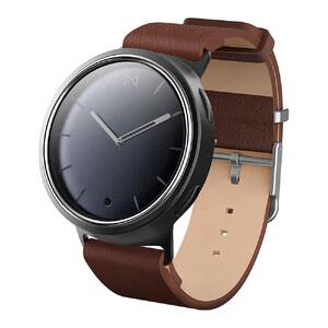 Купить Гибридные смарт-часы Misfit Phase Navy/Gray с коричневым кожаным ремешком