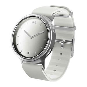 Купить Гибридные смарт-часы Misfit Phase Silver с белым спортивным ремешком
