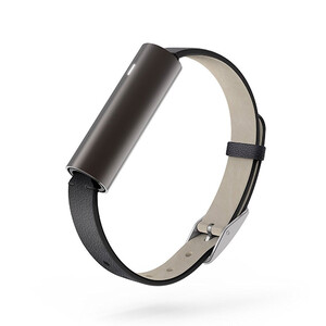Купить Фитнес-браслет Misfit Ray Carbon Black/Black Leather Band