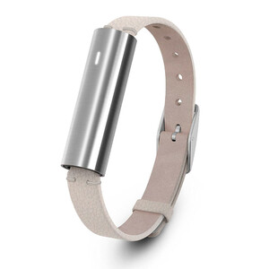 Купить Фитнес-браслет Misfit Ray Stainless Steel/Cream Leather Band