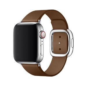 Купить Ремешок oneLounge Modern Buckle Brown для Apple Watch 44mm/42mm SE/6/5/4/3/2/1 OEM
