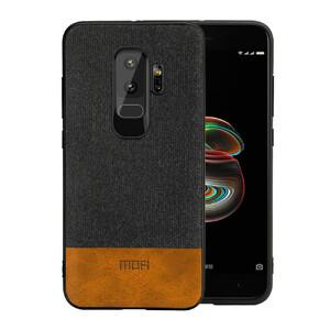 Купить Тканевый чехол MOFI Black/Brown для Samsung Galaxy S9 Plus