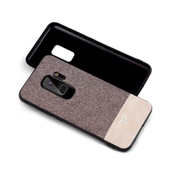 Тканевый чехол MOFI Gray | White для Samsung Galaxy S9