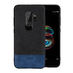 Тканевый чехол MOFI Black/Blue для Samsung Galaxy S9 Plus