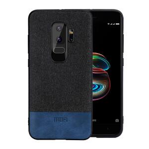 Купить Тканевый чехол MOFI Black/Blue для Samsung Galaxy S9 Plus