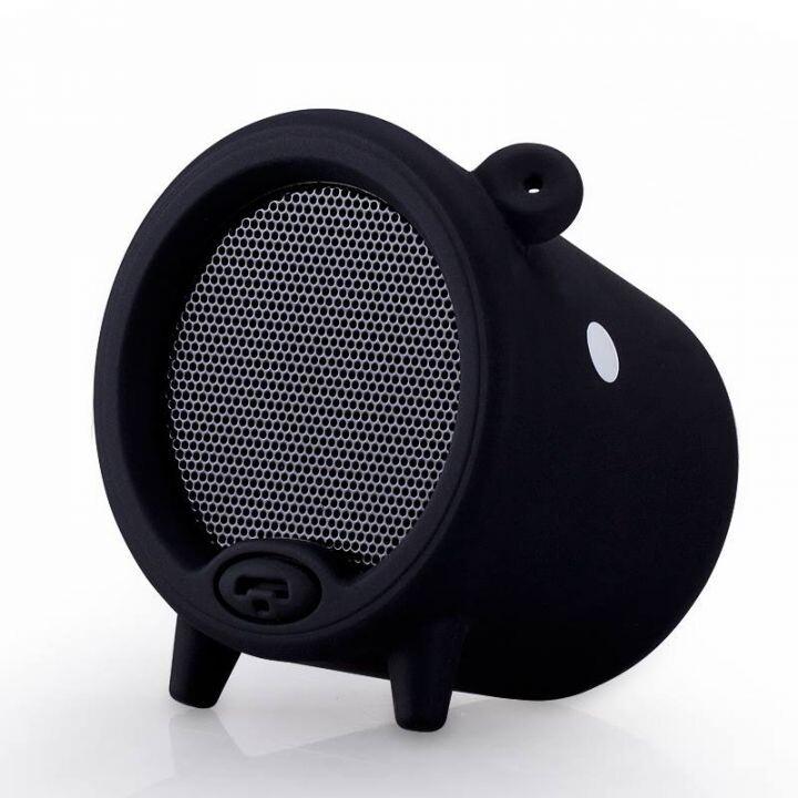 Портативная колонка MOMAX Piggy Black