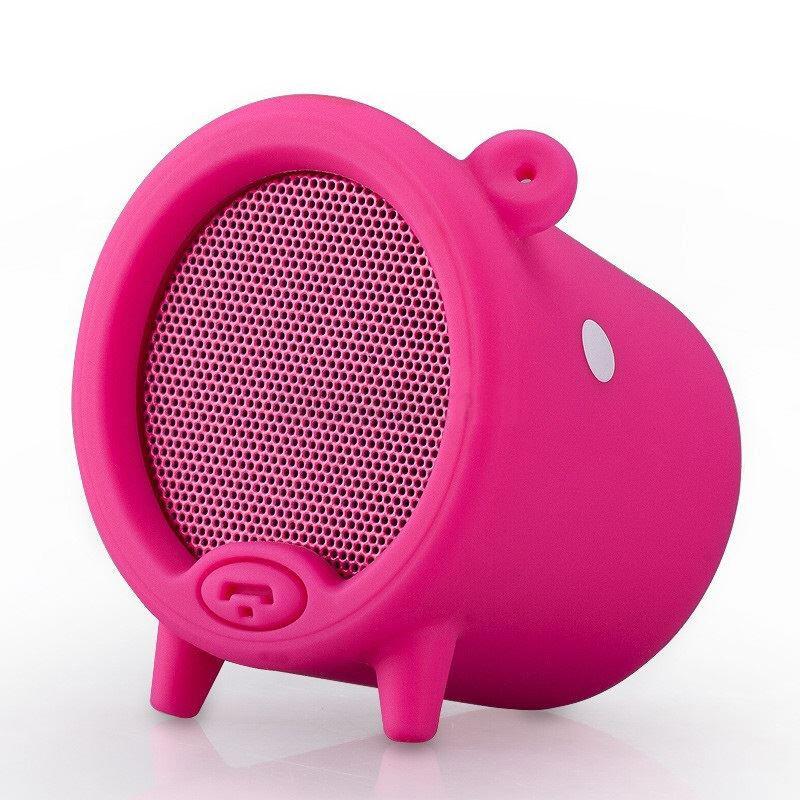 Портативная колонка MOMAX Piggy Pink