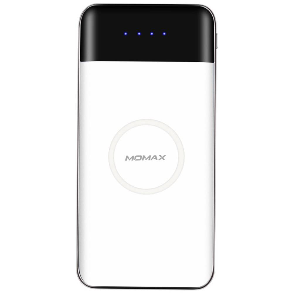 Купить Внешний аккумулятор с беспроводной зарядкой Momax iPower AIR 10000mAh White