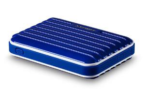Купить Темно-синий внешний аккумулятор MOMAX iPower GO 8400mAh