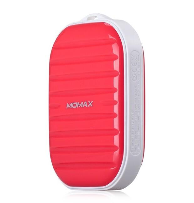 Внешний аккумулятор MOMAX iPower GO Mini 7800mAh Magenta
