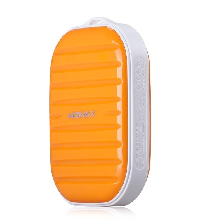 Внешний аккумулятор MOMAX iPower GO Mini 7800mAh Orange