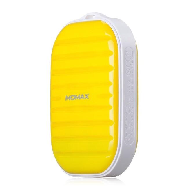 Внешний аккумулятор MOMAX iPower GO Mini 7800mAh Yellow