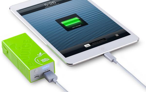 Салатовый внешний аккумулятор MOMAX iPower Juice 4400mAh для iPhone | iPad | iPod | Mobile