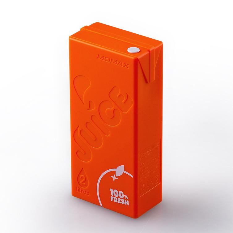 Купить Оранжевый внешний аккумулятор MOMAX iPower Juice 4400mAh для iPhone | iPad | iPod | Mobile