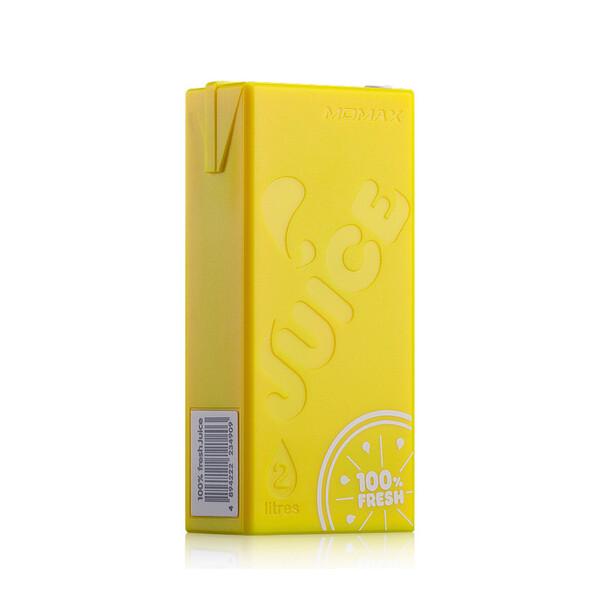 Желтый внешний аккумулятор MOMAX iPower Juice 4400mAh для iPhone | iPad | iPod | Mobile