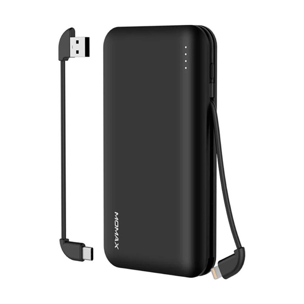 Купить Внешний аккумулятор Momax iPower Minimal 5 External Battery Pack Black 10000mAh